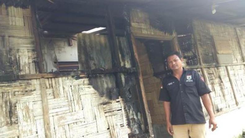 Kantor Perkumpulan Warga Jawa di Deliserdang Terbakar, Ada Tercium Bau Minyak Tanah