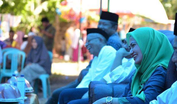 Bupati Luwu Utara Indah Putri Indriani Ingin Ada 1 Hafiz Alquran di Setiap Masjid