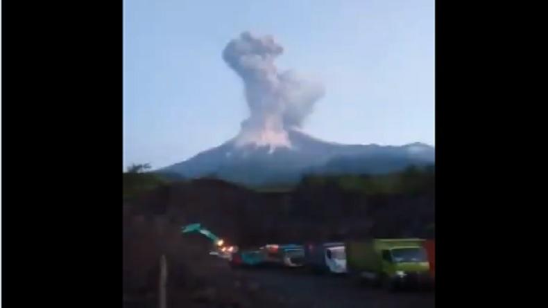 Cerita Penambang di Sleman saat Detik-Detik Erupsi Gunung Merapi