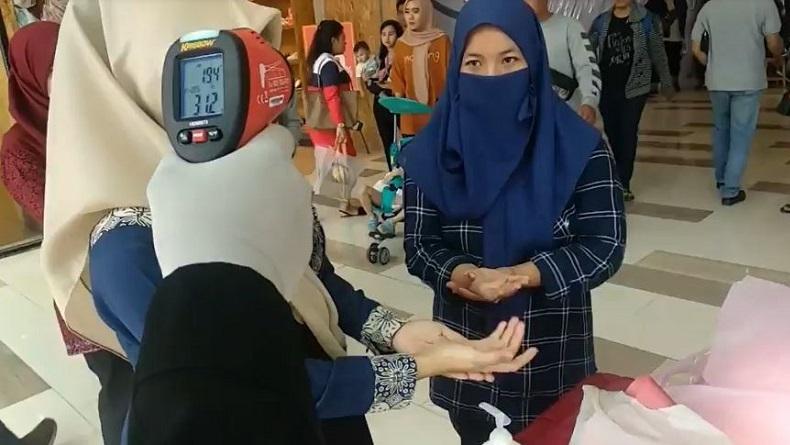 Pengunjung Mal di Solo Tak Pakai Masker Dilarang Masuk