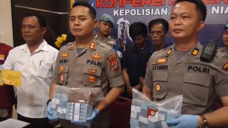 Oknum Kades di Nias Barat Terjerat Kasus Narkoba, Polisi Sita Dana Desa Rp350 Juta