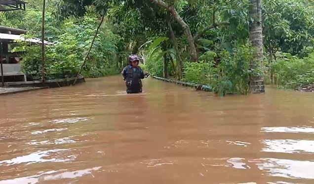 Puluhan Rumah Terendam Banjir di Gunungkidul