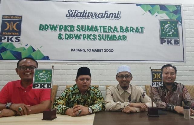 Koalisi PKB-PKS Akan All Out Menangkan Riza-Febby di Pilkada Sumbar