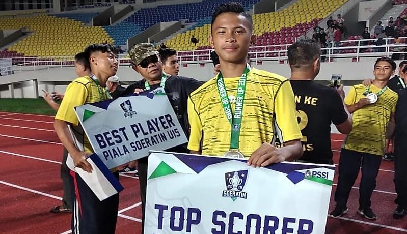 Pemain Timnas Indonesia U-16 Krisna Sulistia Susul Garuda Select ke Inggris