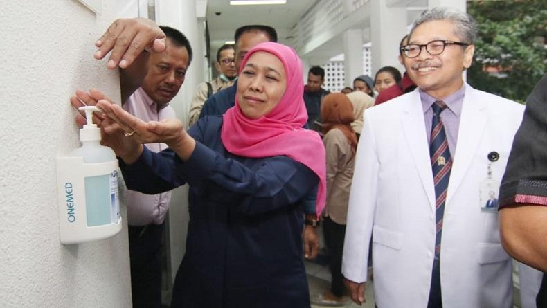 Gubernur Khofifah: 26 Orang di Jatim Positif Korona