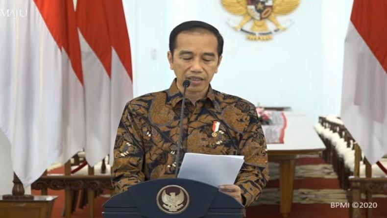 Ditanya Hasil Tes Virus Korona, Ini Jawaban Jokowi