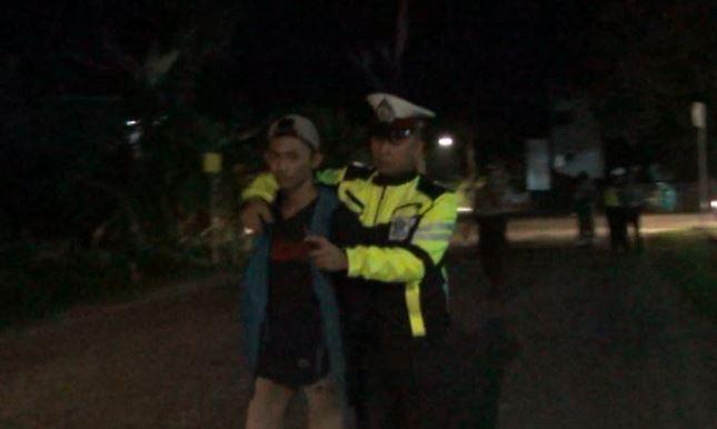 Razia Gabungan di Musi Banyuasin, 2 Remaja Bawa Sajam Diamankan