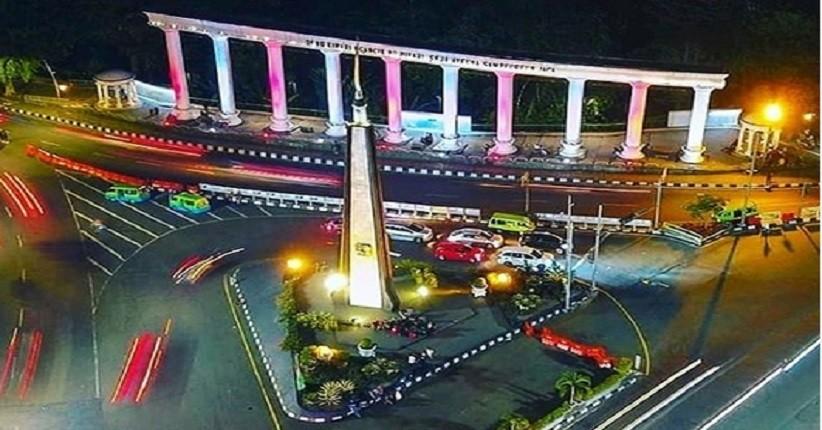 Tugu Kujang, Landmark Kota Bogor yang Terlihat Eksotis saat Malam
