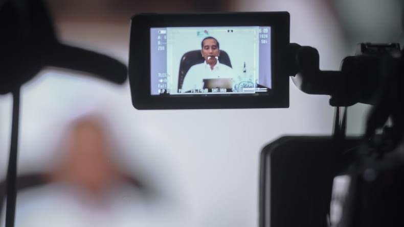 Ucapkan Pesan Nyepi, Jokowi Singgung Social Distancing