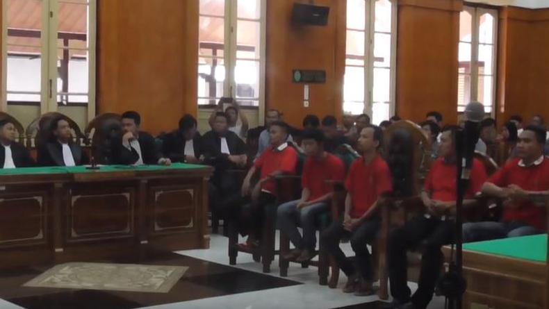 5 Pembunuh Anggota Ormas di Medan Dihukum 6 Tahun Penjara