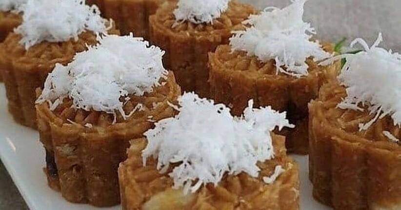 Resep Kue Basah Enaknya Bikin Getuk Singkong Tabur Kelapa