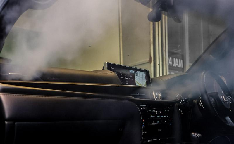 Cegah Virus dalam Mobil, Fogging Interior Kendaraan
