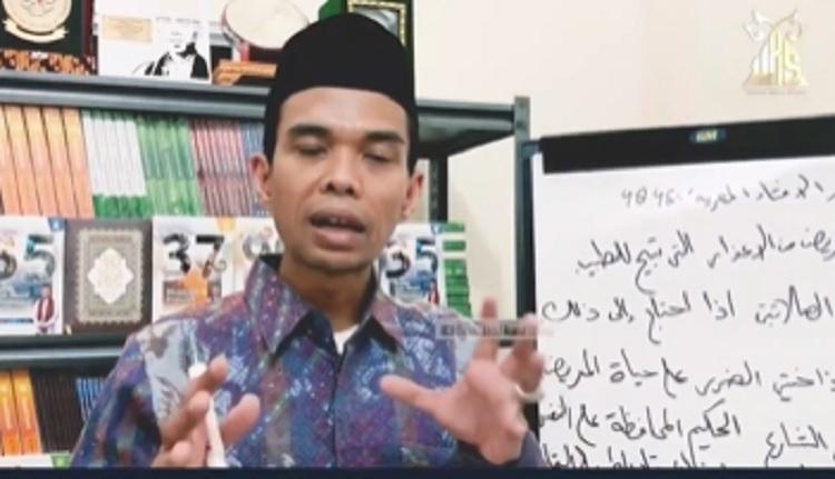 Begini Cerita UAS saat Momen Terakhir Bersama Almarhum Syekh Ali Jaber