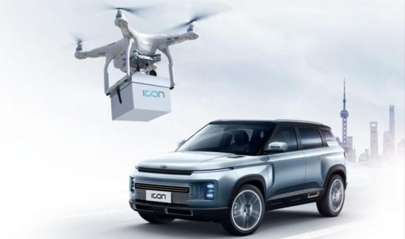 Cegah Virus Corona, Geely Kirim Kunci Mobil ke Konsumen Pakai Drone