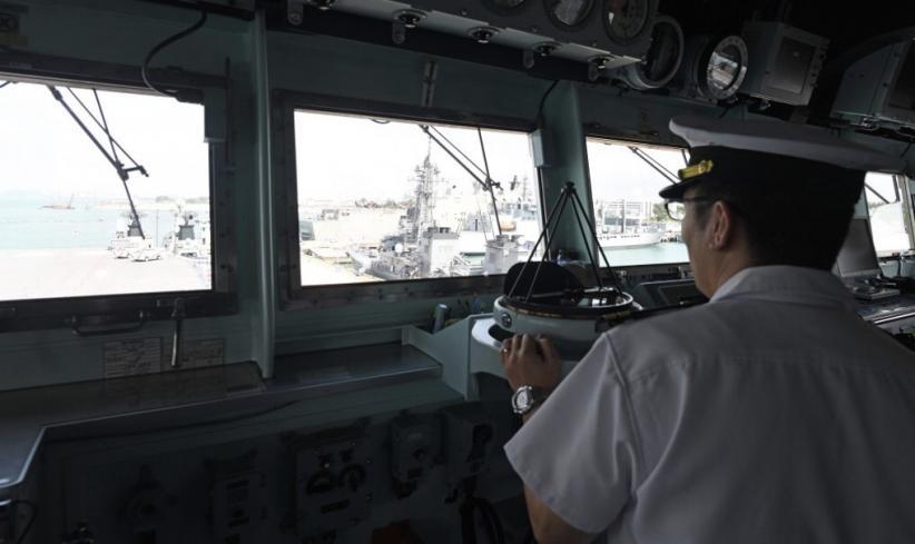 Kapal Perang Jepang Bertabrakan dengan Kapal Nelayan China di Wilayah Sengketa