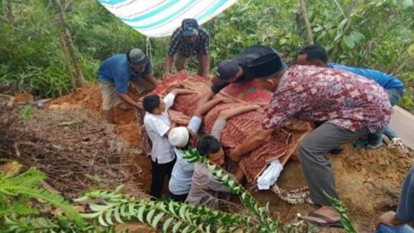 Napi Teroris Bom Sibolga Meninggal di Nusakambangan, Dimakamkan di Tapteng