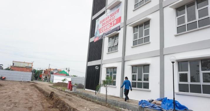 Rusunawa Kebondalem Kendal Dijadikan Rumah Sakit Darurat Covid 19