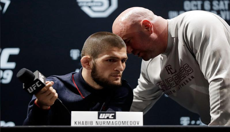 Khabib Nurmagomedov Masih Berduka, Presiden UFC Tak Berani Macam-Macam