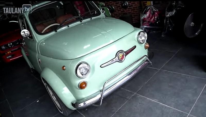 Mengupas Mobil Klasik Fiat 500 Andre Taulany, Lahir Setelah Perang Dunia II