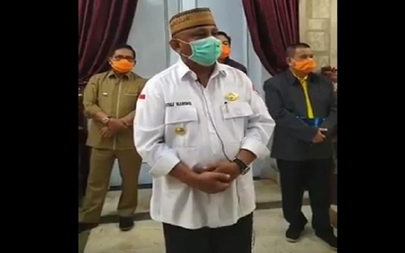 Gubernur Gorontalo Rusli Habibie dan Istri Positif Covid-19, Keduanya Isoman