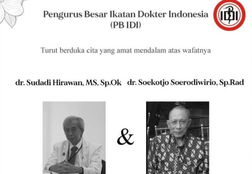 2 Dokter Perintis di Indonesia Meninggal Terinfeksi Corona, IDI: Total Sudah 22