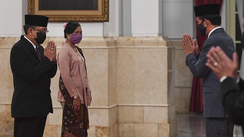 Presiden Jokowi Lantik Komisioner KPU Pengganti Wahyu Setiawan