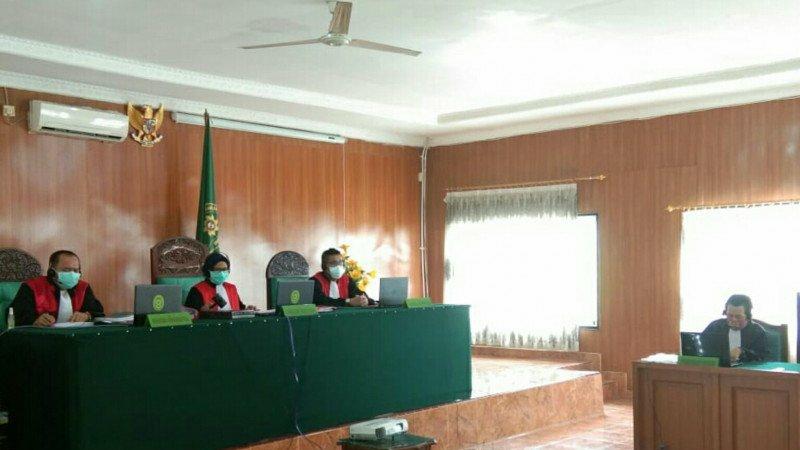 Lewat Sidang Virtual, 2 Kurir 79 Kg Sabu asal Palembang Dituntut Hukuman Mati