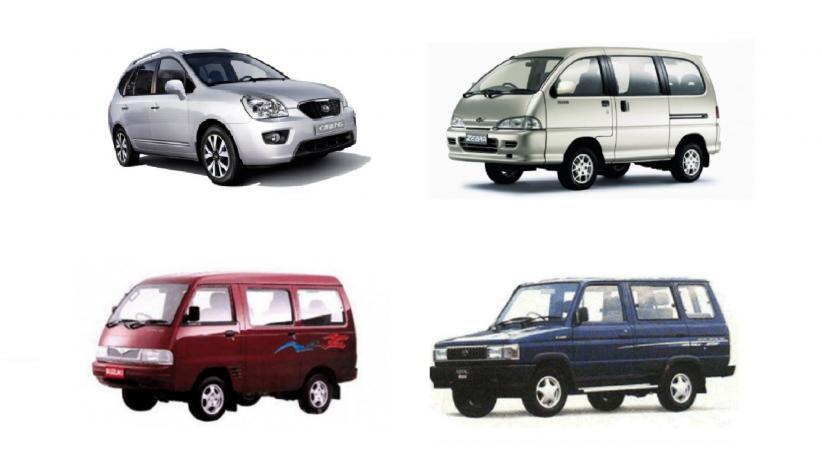 4 Mobil Bekas Minibus dan MPV Seharga Rp30 Jutaan, 1 Mobil Legendaris