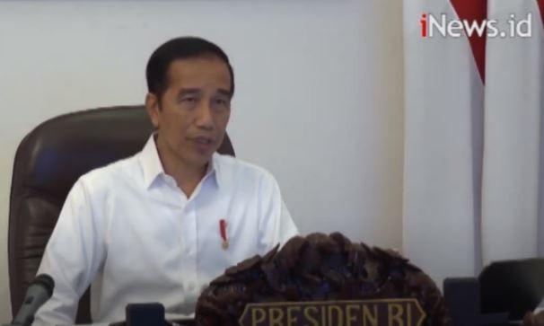 Jokowi Ingatkan Protokol Kesehatan saat Berbelanja di Pasar untuk Cegah Covid-19