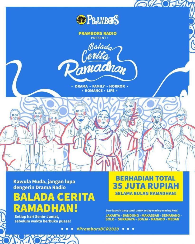Prambors Balada Cerita Ramadan 2020, Teman Ngabuburit Selama Bulan Ramadan