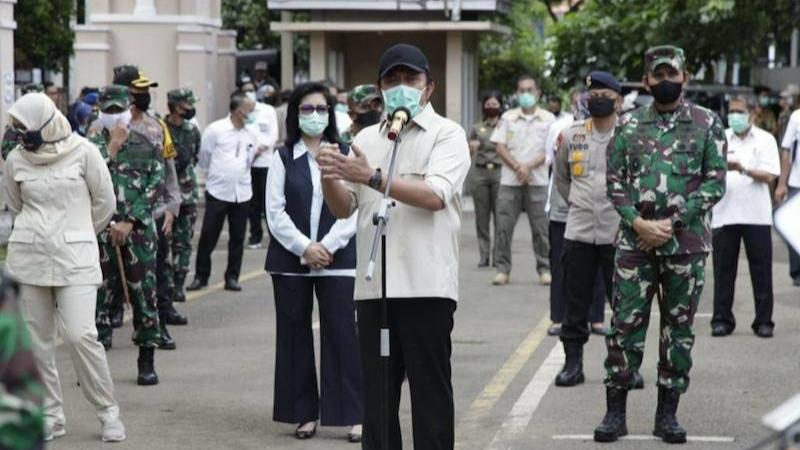 Jumlah Pelanggar PSBB Palembang Turun, Gubernur: Masyarakat Semakin Sadar