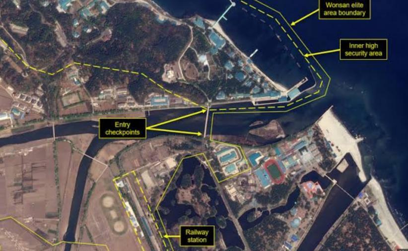Kereta Api yang Biasa Digunakan Kim Jong Un Terlihat di Kota Resor Pantai
