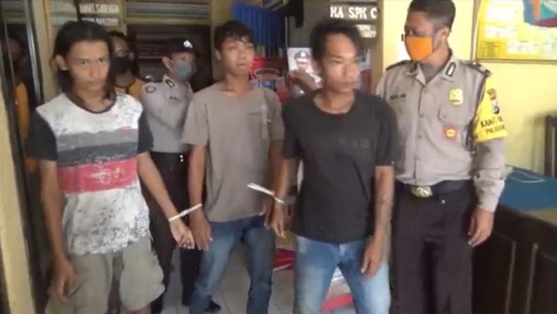 3 Pemuda di Jombang Ditangkap karena Coba Rampas Sepeda Motor dan Handphone