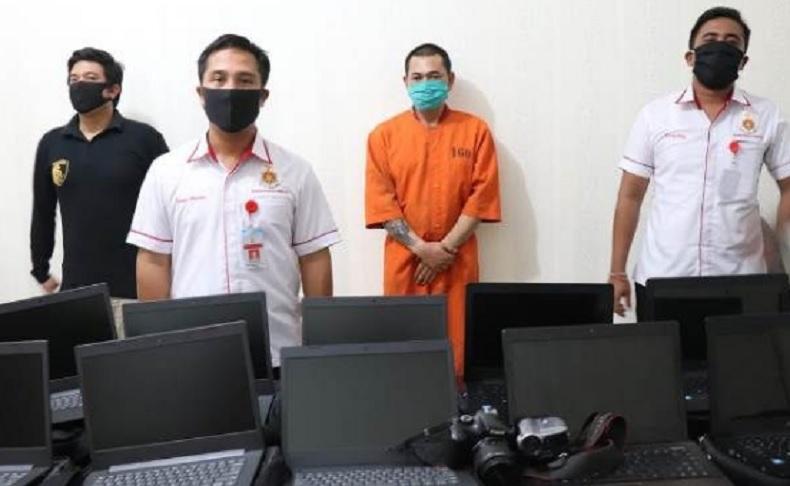 Gudang SMPN 2 Pasaman Dibobol Maling, 18 Laptop Raib
