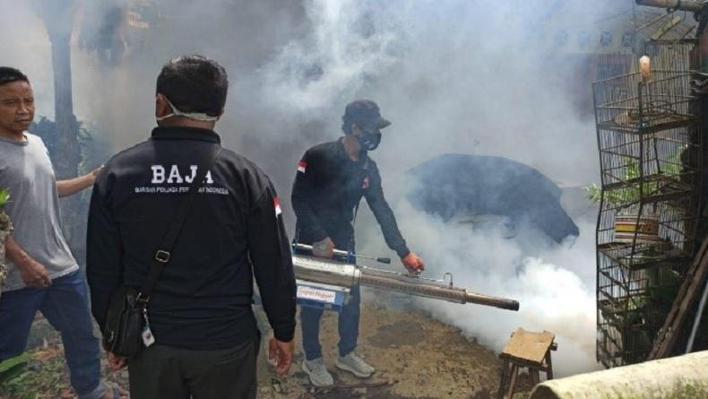 Cegah DBD, Dinkes Ambon Fogging di Kawasan Rawan Endemik
