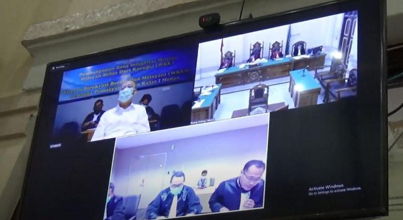 Sidang Suap Wali Kota Medan, Dzulmi Eldin Tak Akui Terima Uang dari Syamsul Fitri