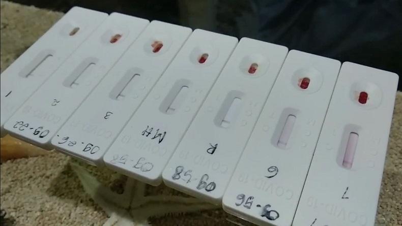 Rapid Test Massal di Bawaslu Bitung, 3 Peserta Reaktif Covid-19