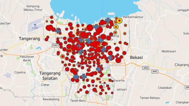 Bertambah 232, Kasus Covid-19 di DKI Jakarta Jadi 8.355 Orang, 3.371 Sembuh