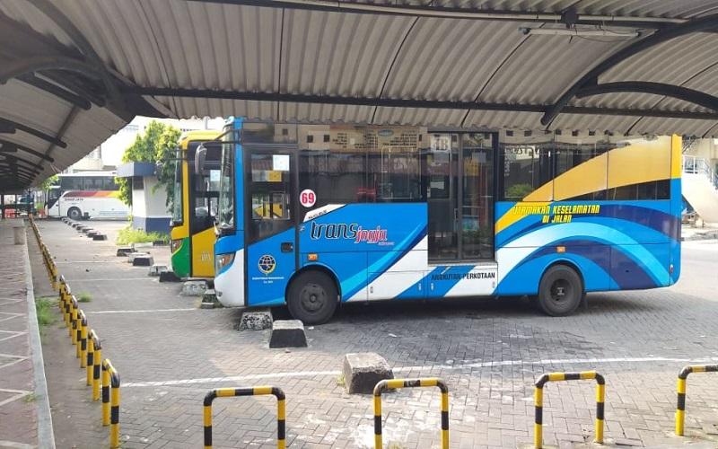 Transjogja Hentikan Operasional Bus selama PPKM Darurat, Ini Alasannya