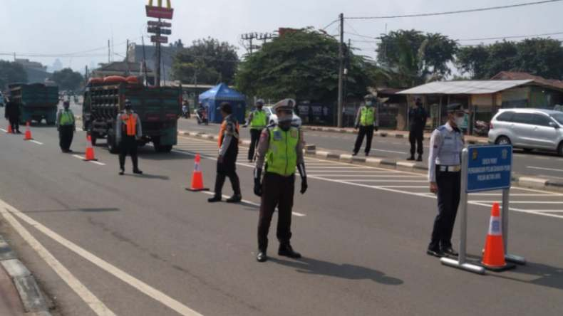 New Normal, 4 Check Point di Perbatasan Solok Tetap Beroperasi