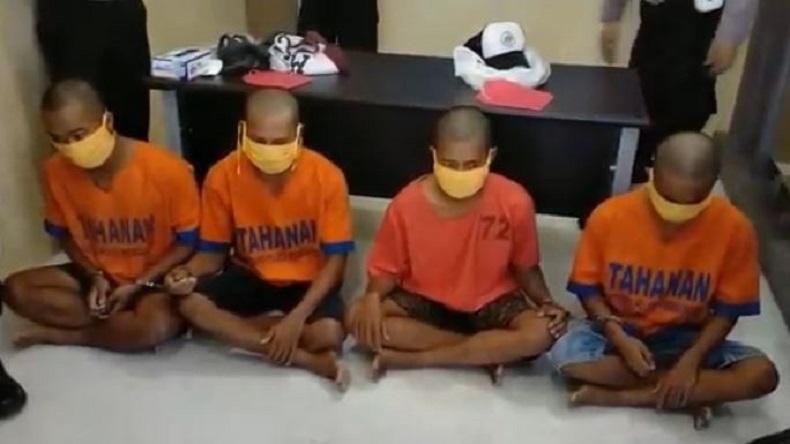 Nekat, 4 Pemuda Teler Keroyok Anggota TNI AL di Probolinggo karena Tak Terima Diklakson