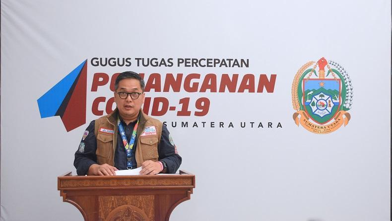 Sumut Turun ke Peringkat 9 Kasus Covid-19 Terbanyak di Indonesia