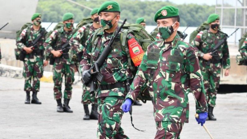 Pangdam I Bukit Barisan Lepas Prajurit Tugas di Perbatasan RI-PNG