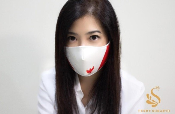 Ferry Sunarto Hadirkan Kreasi Masker Unik  di Tengah Pandemi Covid-19