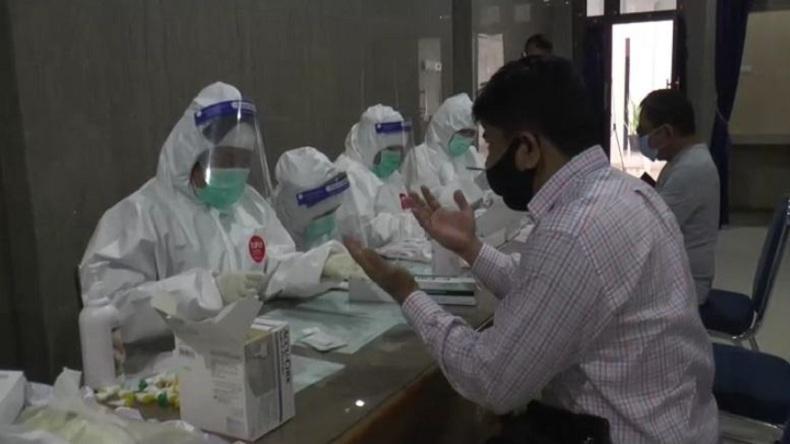7 Anggota DPRD Deliserdang dan 4 Staf Reaktif Hasil Rapid Test Covid-19