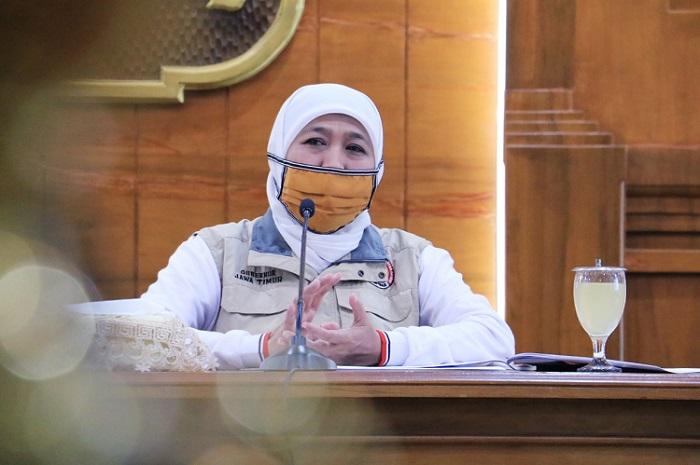 Kasus Covid-19 di Jatim Terus Meningkat, 2 Jenderal Temui Gubernur Khofifah