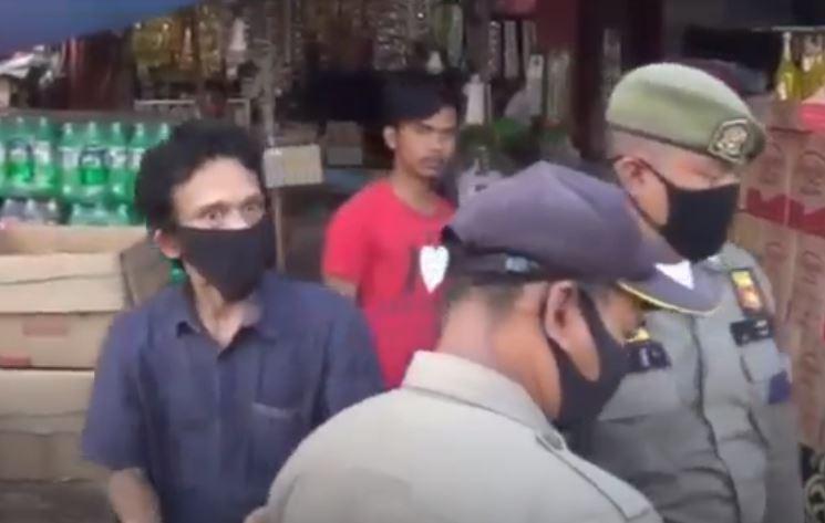 Ricuh saat Penertiban di Pasar Anyar, Pedagang dan Satpol PP Bogor Adu Mulut