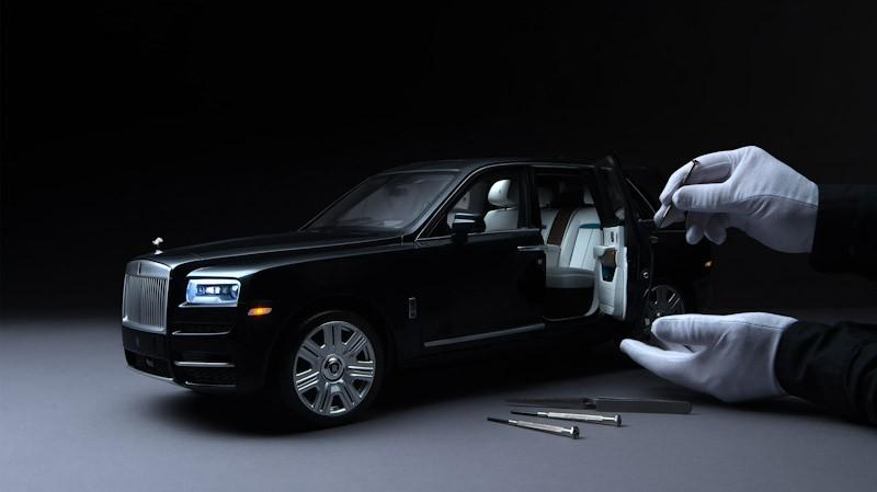 Rolls-Royce Buat Replika Cullinan Skala 1:8 Sangat Detail Percis Mobil Aslinya