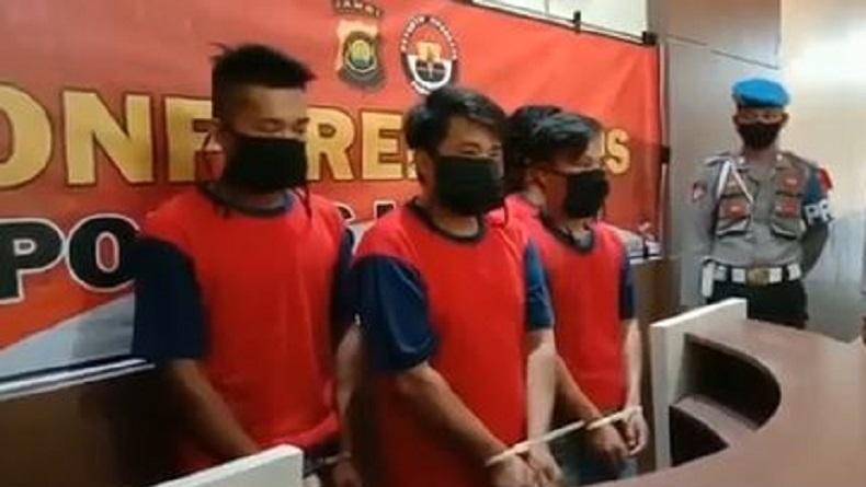 Posko Covid-19 di Desa Air Batu Merangin Dibakar Massa, Polisi Tangkap 5 Diduga Provokator