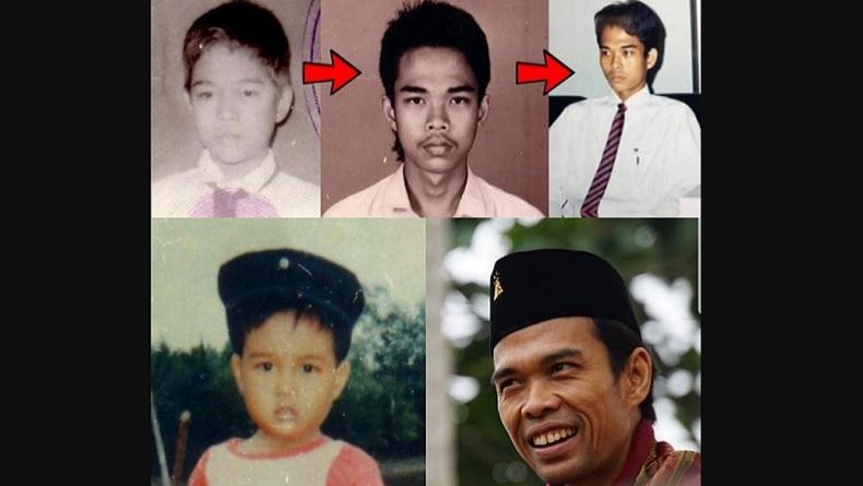 Ustaz Abdul Somad Unggah Foto Masa Kecil hingga Dewasa, Netizen: Keren Pas Sekolah